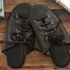 MADE lace up sandals from LF